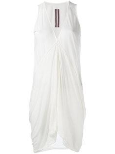 v-neck tank dress Rick Owens DRKSHDW