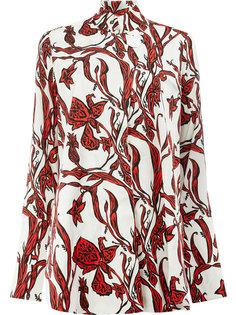 рубашка с цветочным принтом Ellery