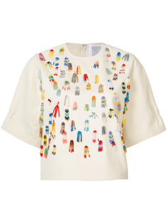 футболка с аппликацией Rosie Assoulin