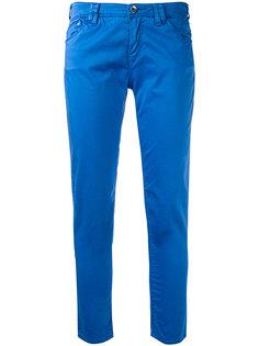 прямые джинсы кроя слим Armani Jeans