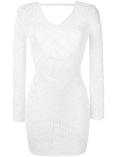 платье с вышивкой  La Perla