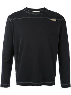 stitch detail sweatshirt Louis Vuitton Vintage