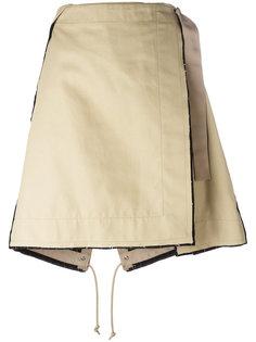 юбка в стиле милитари Sacai