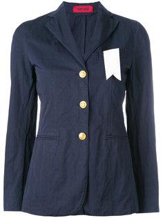 пиджак с контрастной вставкой The Gigi