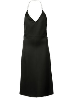 flared backless dress  Barbara Casasola