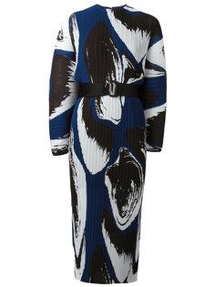 плиссированное платье с принтом Else  Solace