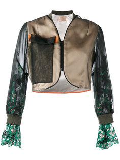 укороченная куртка-бомбер  Quetsche