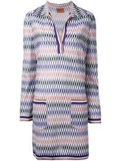 платье-шифт с геометрическим рисунком Missoni