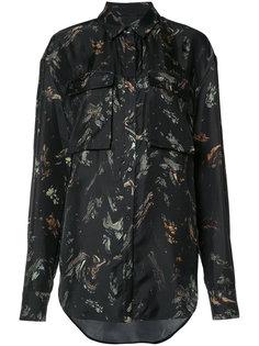 рубашка с нагрудными карманами Josh Goot