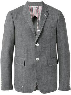 пиджак с откидными клапанами на карманах Thom Browne