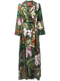 floral wrap dress F.R.S For Restless Sleepers