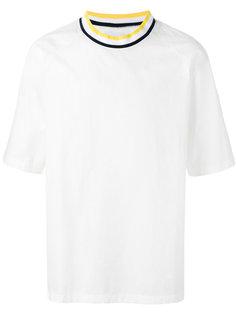 contrast T-shirt  Sunnei