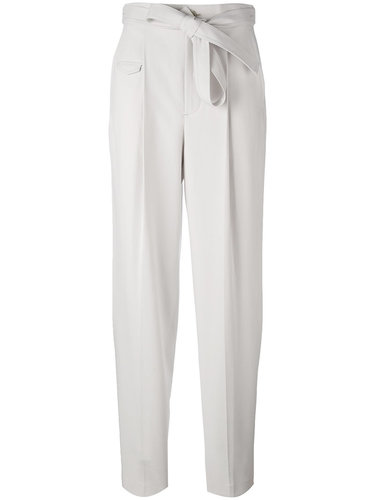 брюки свободного кроя с поясом Helmut Lang