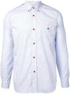 back print button-down shirt Junya Watanabe Comme Des Garçons Man