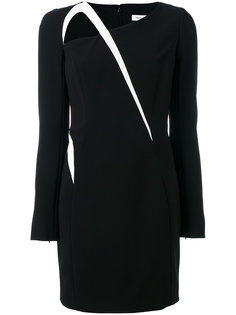 contrasting detail dress Mugler