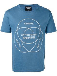 ethos print T-shirt Christopher Raeburn