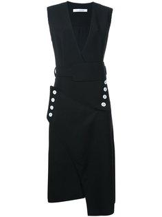 платье с V-образным вырезом Christopher Esber