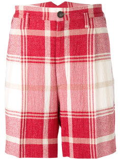 checked shorts Vivienne Westwood Man