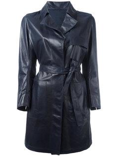 belted coat  Sylvie Schimmel