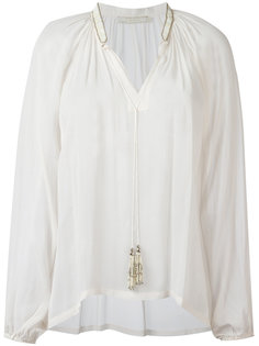tassel neck blouse  Amen Amen.