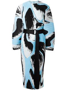 платье с поясом и складками Solace