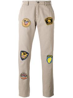 брюки с нашивками History Repeats