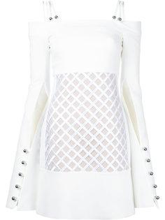 платье с открытыми плечами David Koma