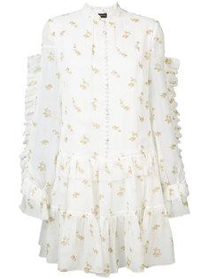 layered floral print dress Magda Butrym
