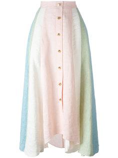 асимметричная юбка на пуговицах спереди Peter Pilotto