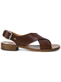 сандалии с перекрещивающимися ремешками Churchs
