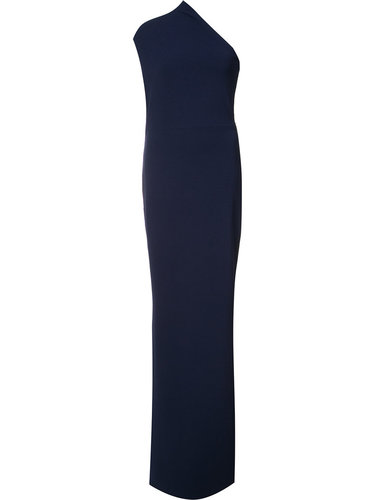 single shoulder maxi dress Solace