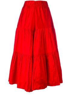 юбка с оборками Marquesalmeida