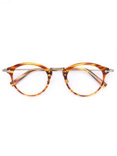 round frame glasses Masunaga