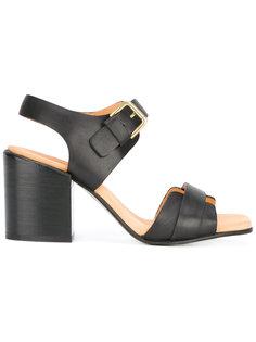 босоножки на каблуках-столбиках Cotélac