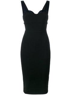 платье Trompe Loeil Victoria Beckham