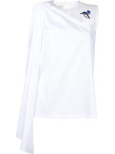 блузка на одно плечо Elaidi