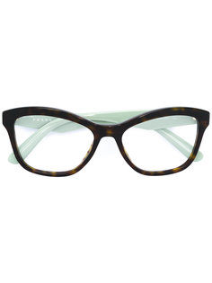 cat eye glasses  Prada Eyewear