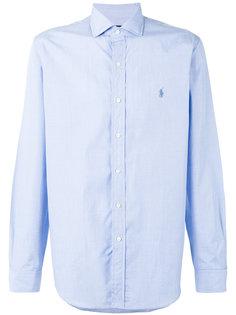 однотонная рубашка Polo Ralph Lauren