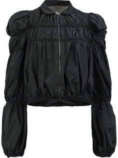 легкая куртка с присборенной отделкой Giambattista Valli
