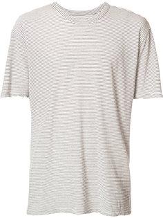 полосатая футболка с контрастной панелью сзади Rta