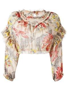 укороченная блузка  Philosophy Di Lorenzo Serafini