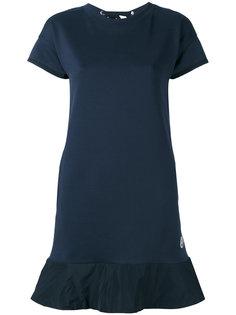 трикотажное платье-футболка Moncler