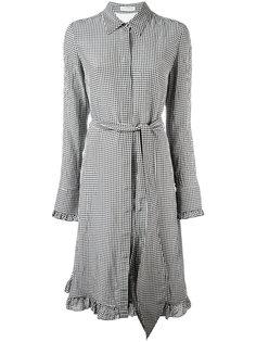 платье-рубашка в клетку Altuzarra