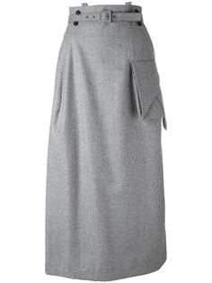 suspender strap skirt Yohji Yamamoto Vintage