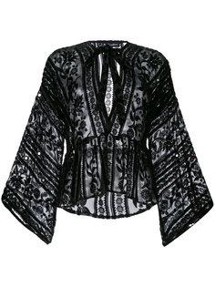 блузка с вышивкой For Love And Lemons