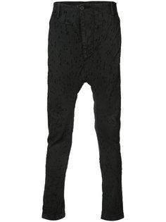 брюки с заниженной проймой 11 By Boris Bidjan Saberi