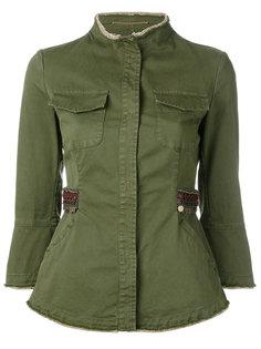 куртка на пуговицах Bazar Deluxe