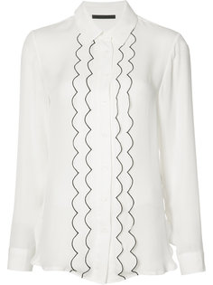 piped frill shirt Jenni Kayne