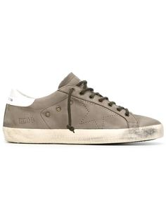 кеды на шнуровке Super Star  Golden Goose Deluxe Brand
