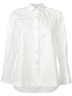 embroidered sleeve shirt Derek Lam 10 Crosby